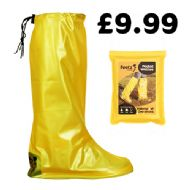 Yellow Pocket Festival Wellies